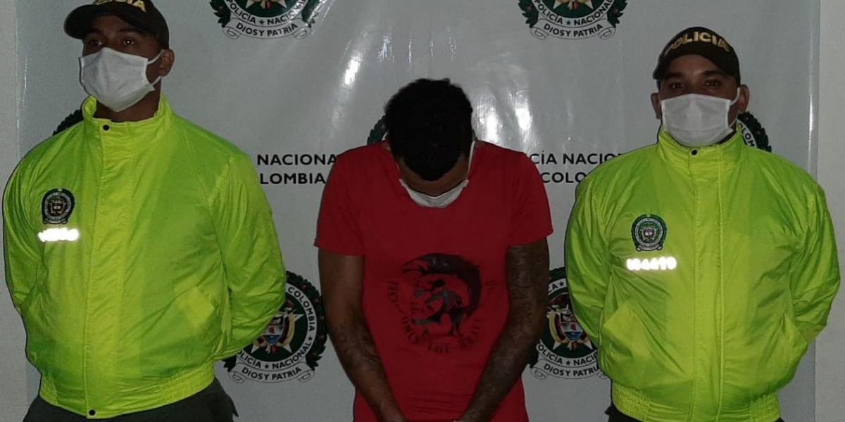 Carlos Miller Pertúz Pacheco, conocido como 'Miller'.