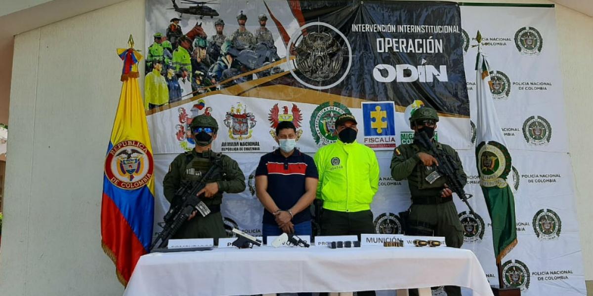 Norberto Quiroga Poveda, alias '5.5'.