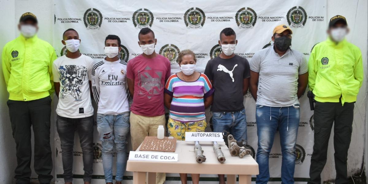 Estas fueron las personas capturadas por hurtos en Fundación y Aracataca.