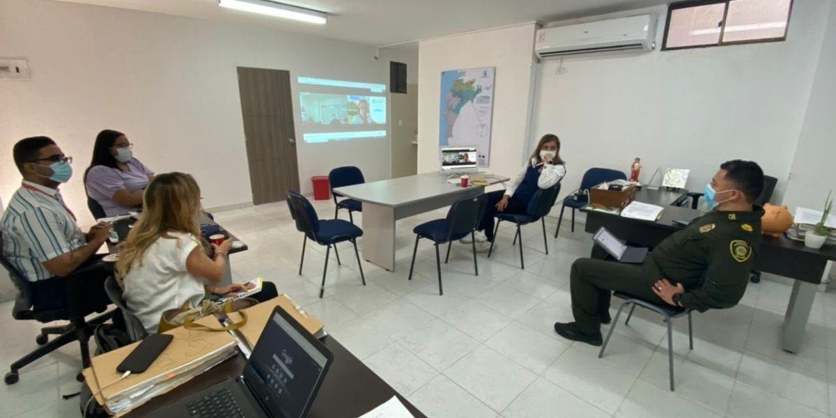 La Secretaría de Seguridad se reunió con representantes universitarios