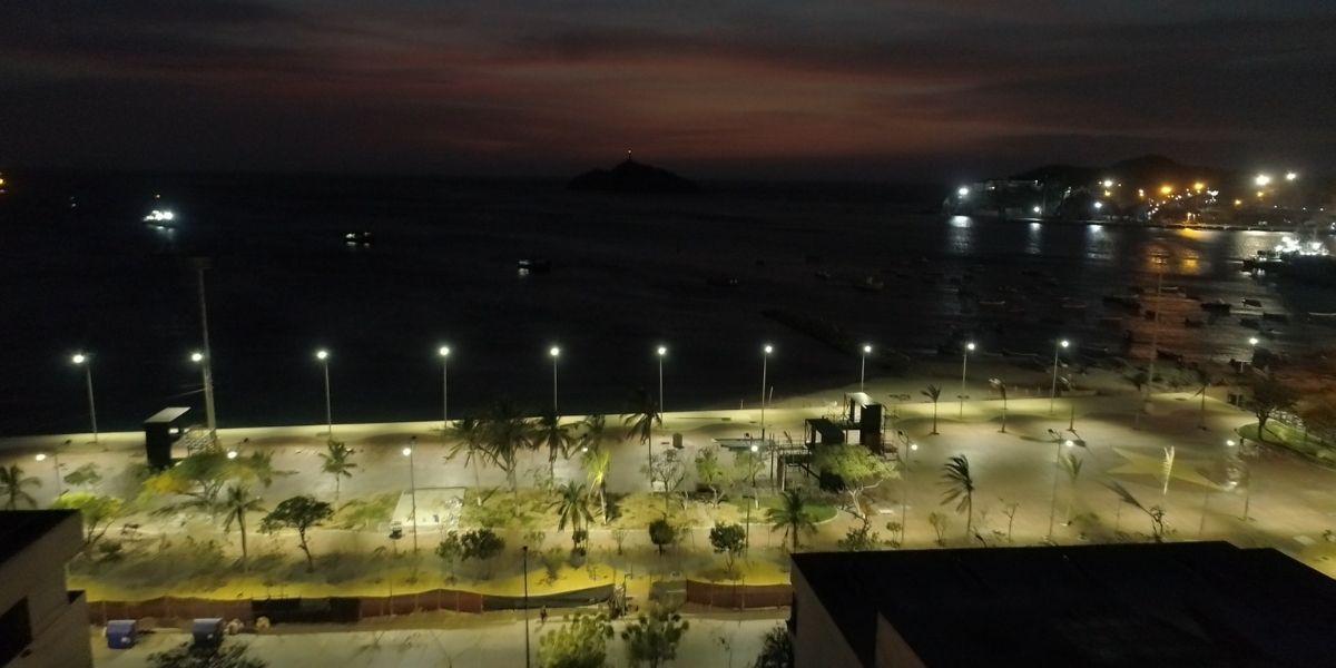 Camellón de la Bahía de Santa Marta
