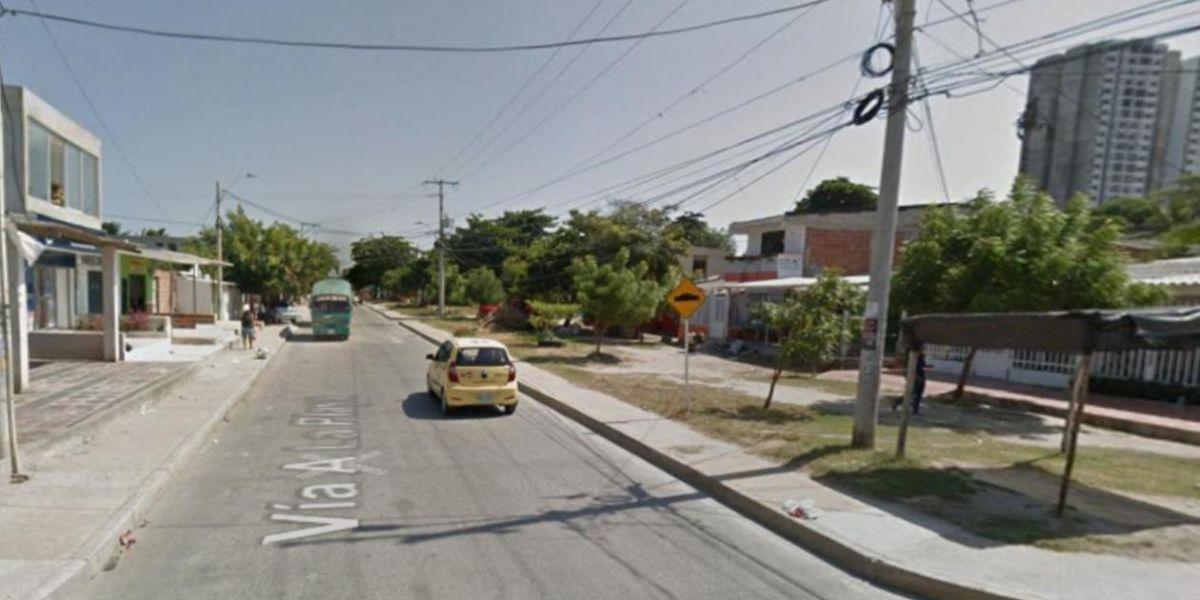Imagen referencial del corregimiento La Playa.