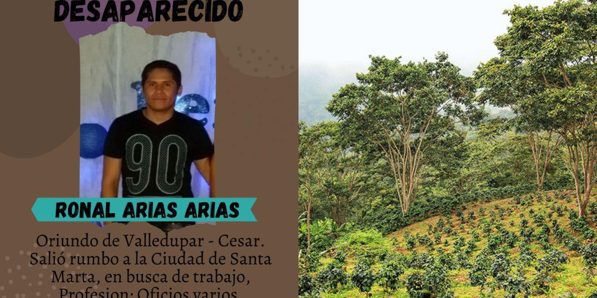 Romel Arias, de 21 años.