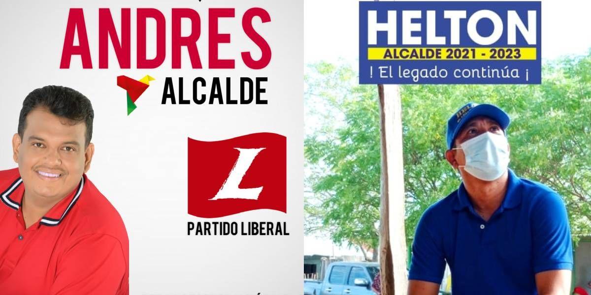 Andrés Del Portillo y Helton Roncallo.