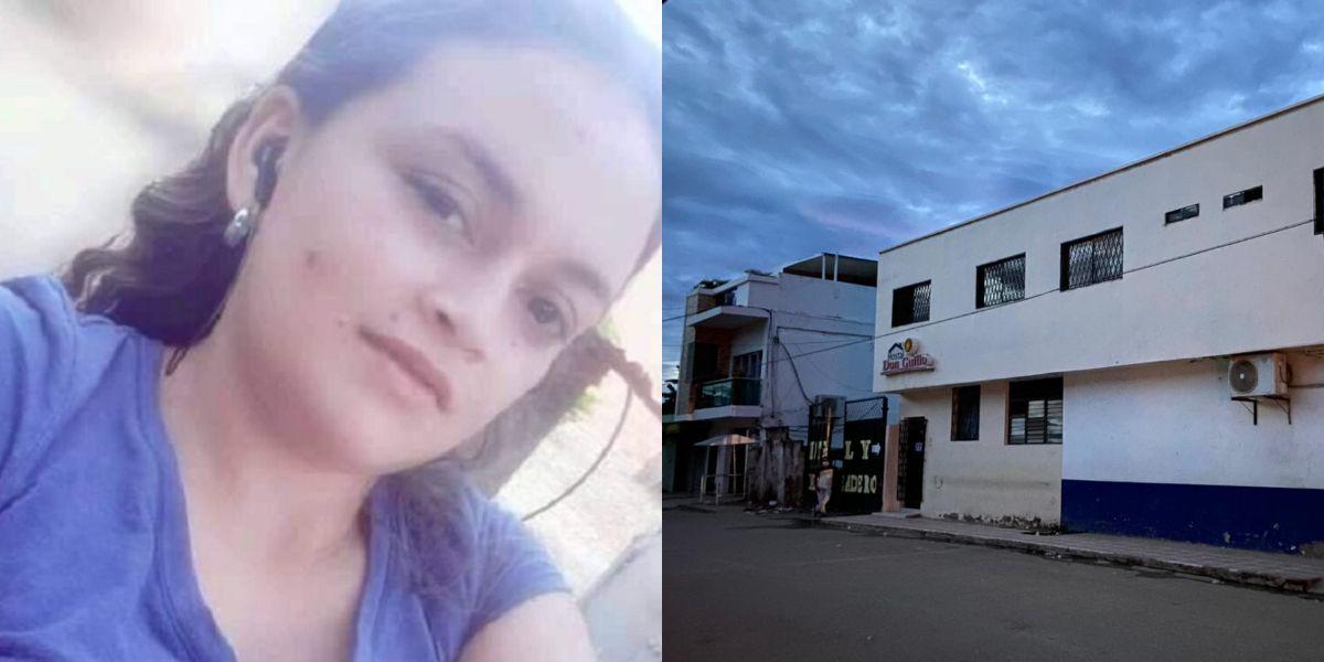 El cuerpo de Derlis Judith Rodríguez Mendoza fue encontrado en la habitación de un hostal de Plato.