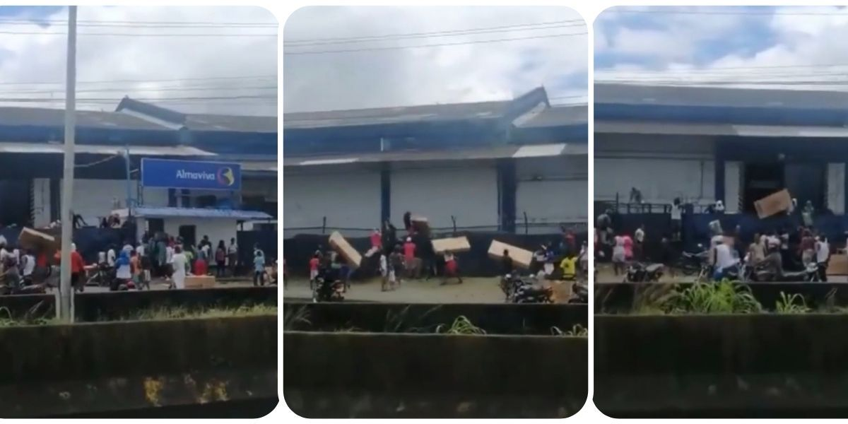 Saqueos en bodegas del Puerto de Buenaventura