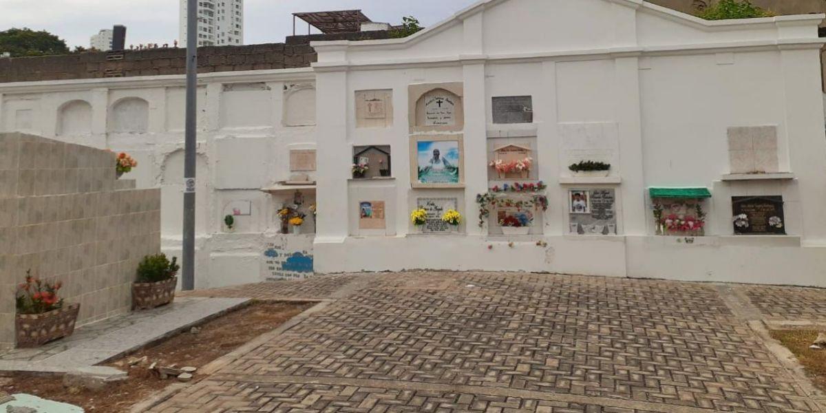 Cementerio Distrital en Cartagena.