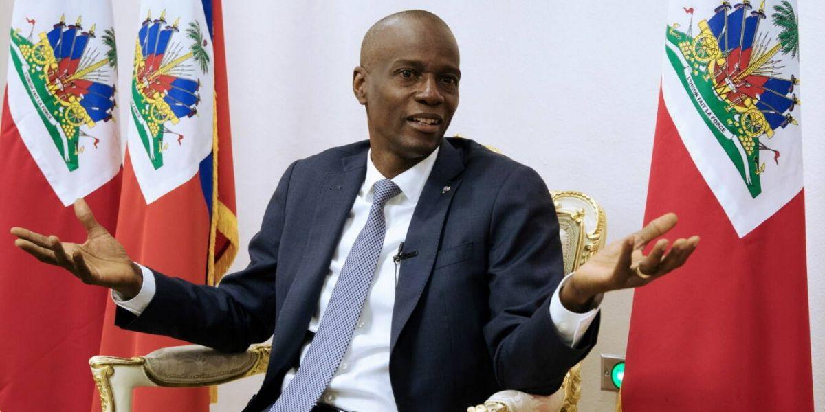 Jovenel Moise, presidente de Haití, fue asesinado.