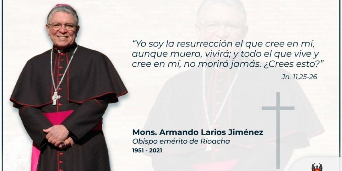 Monseñor Armando Larios Jiménez.