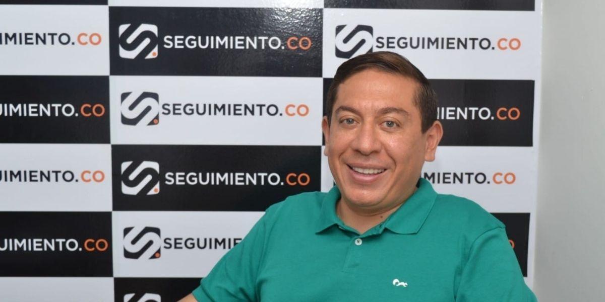 Carlos Amaya, precandidato presidencial.