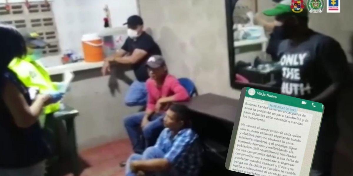 Las autoridades lograron la captura de cinco presuntos sicarios.