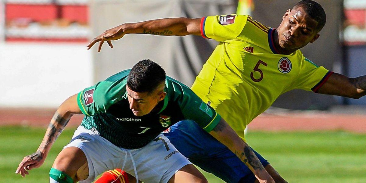 Colombia viene de igualar ante Bolivia.
