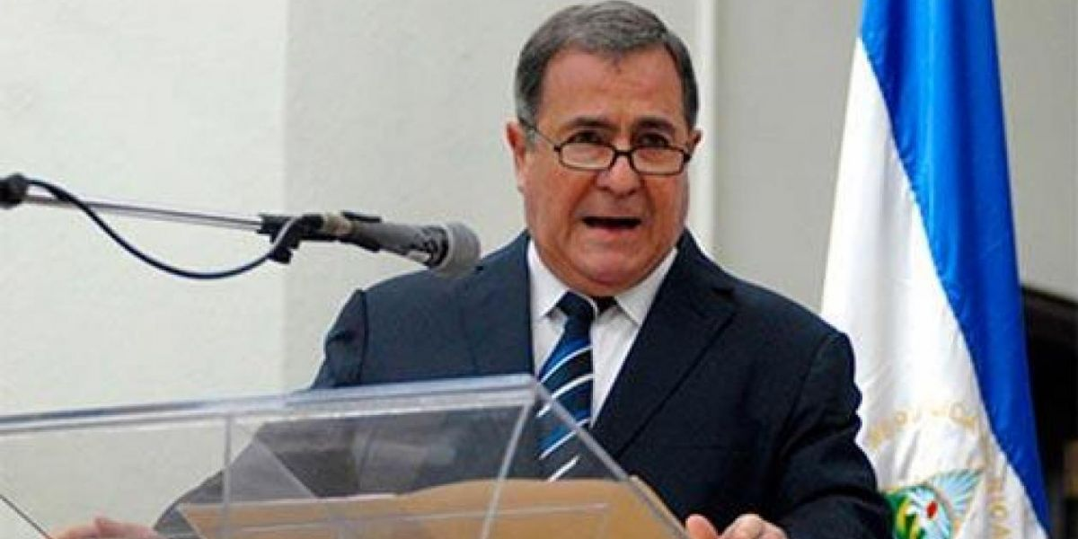 El representante de Nicaragua ante la CIJ, Carlos Argüello.
