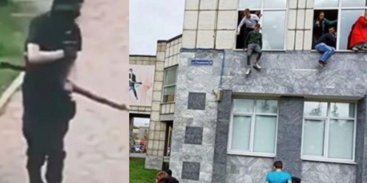 Un estudiante habría iniciado el tiroteo.