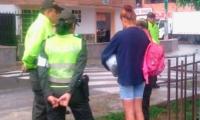 La mujer fue capturada por la Policía días después del hecho.