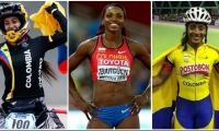 Las tres deportistas son cartas fuertes de la delegación nacional, para obtener preseas de oro.