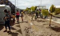 Exteriores pista Bmx, Unidad Deportiva Bureche.