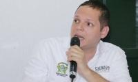 Alcalde de Ciénaga Edgardo Pérez Díaz