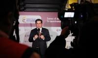 El ministro Juan Fernando Cristo dio la información en conferencia de prensa.