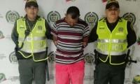 La Policía atendió el llamado de la ciudadanía y logró la captura del sindicado.