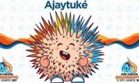 Mascota oficial de los Juegos Bolivarianos.