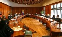 Sala plena de la Corte Constitucional.