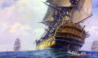 Galeón San José, la embarcación española que se hundió en 1708.