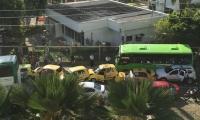 El accidente ocurrió frente a la Base Naval en Cartagena.