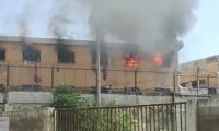 Incendio en la cárcel Modelo de Barranquilla.