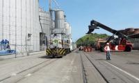 Tren de carga que busca ser reactivado por el Puerto de Santa Marta