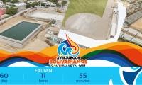 Cuenta regresiva de los Juegos Bolivarianos.