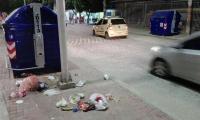 Los samarios aún no se acostumbran a usar los contenedores de basura.