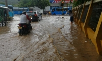 Habrá lluvias y el riesgo de crecientes súbita se extenderá hasta el 16 de octubre.