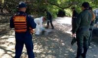 La Policía realizó la inspección judicial del cadáver.