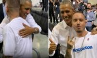 J Balvin y Barack Obama