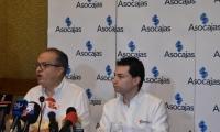 El procurador Fernando Carrillo y el contralor Carlos Felipe Córdoba.