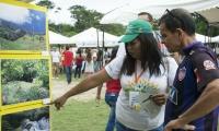 Los líderes exhibieron orgullosos los sitios turísticos que engalanan los corregimientos de Santa Marta.