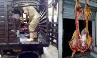 En total 2 toneladas de carne fueron decomisadas por el Invima en las dos plantas de beneficio animal.