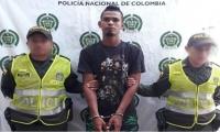 El capturado fue identificado Andrés Said Escorcia Natera, de 25 años.