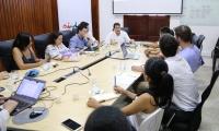 La reunión de la formalización del proyecto contó con la asistencia de delegados del Gobierno Suizo y de la embajada de ese país en Colombia, , entre otros.