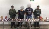 Ciudadanos húngaros detenidos en Cartagena.