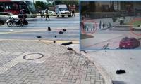 Accidente que dejó una persona muerta en la calle 26 /Captura video