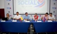 Invías, Contraloría, Gobernación, Veeduría Ciudadana y la comunidad estuvo presente en la audiencia pública.
