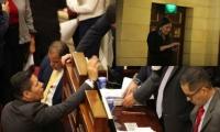 Discusión en la cámara de representantes