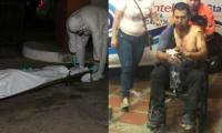 Referencia - Herido en atentado criminal, Fernando Muñoz.