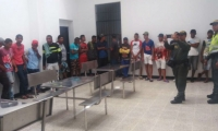 Venezolanos detenidos.
