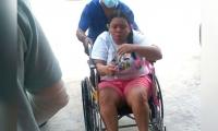 Laura Fontalvo fue atendida en la Clínica Bahía.