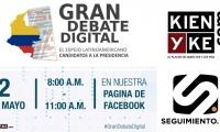 Este 2 de mayo será el #GranDebateDigital