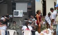 Según EPM, han dispuesto varios Puestos de Mando Unificados para atender a pobladores evacuados.