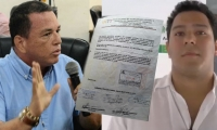 Concejal Jaime Linero - Abogado Gabriel Escobar.